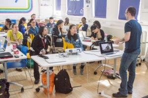 Kaitlin Zhang Personal Branding Masterclass London O2 Think Big Hub 2
