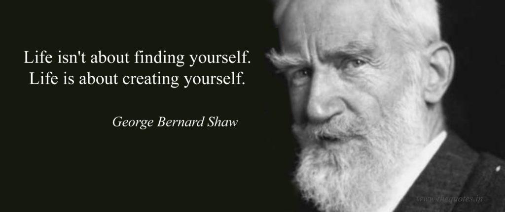 Bernard Show Quote