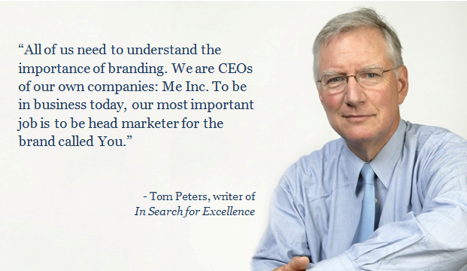 Tom Peters Quote Personal Branding
