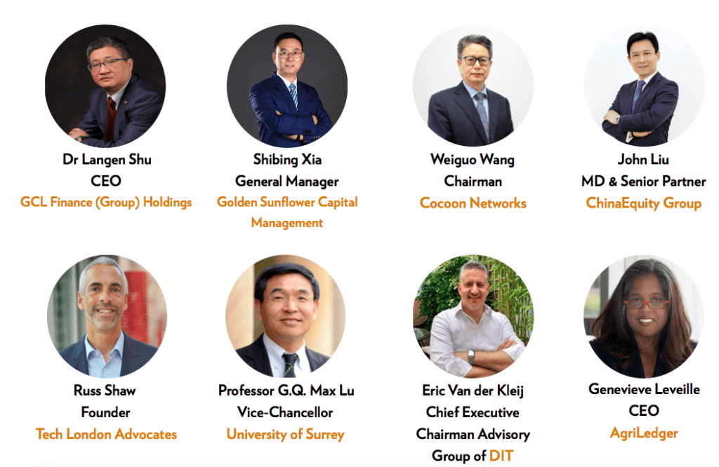 Guest Speakers at the China UK Hi Technology Festival 2017 At Cocoon Networks London