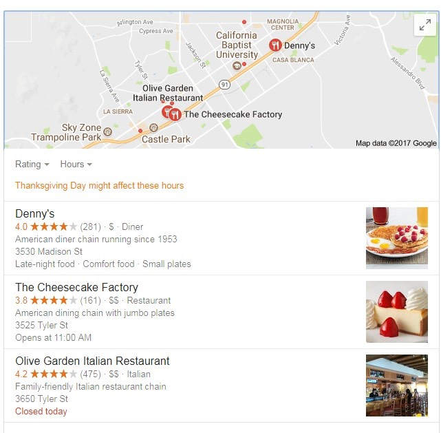 Google+ images on google maps