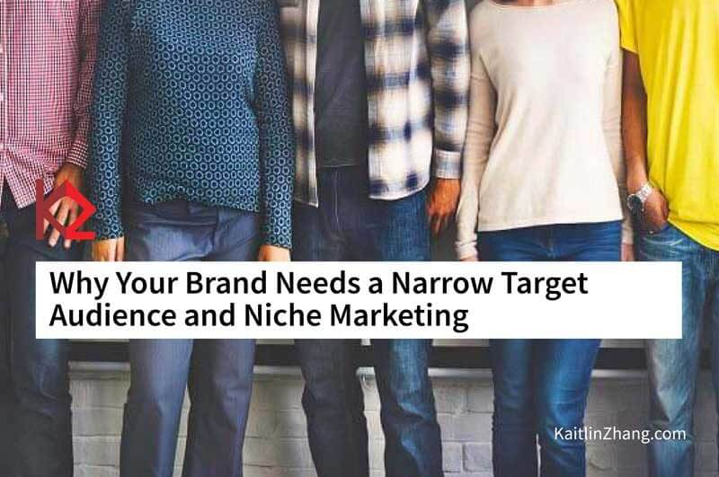 people standing close together - why your brand needs a narrow target audience and niche marketing