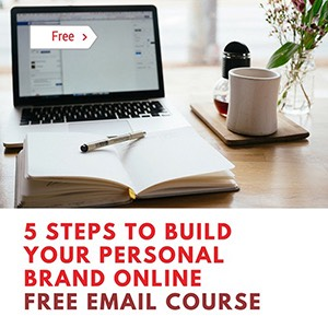 kaitlin zhang personal branding free email course banner