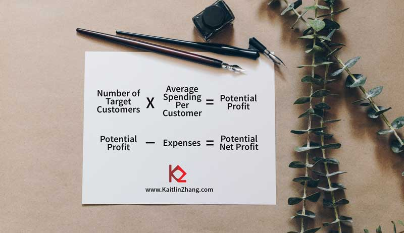 potential profit formula for niche marketing