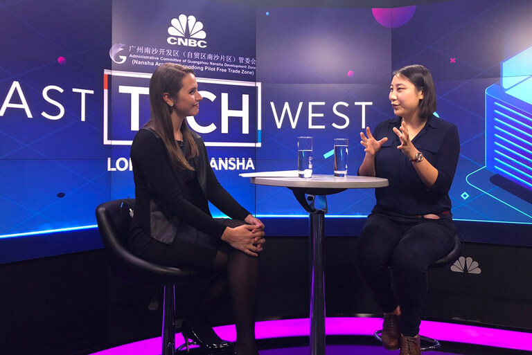 Kaitlin Zhang interview by Elizabeth Schulze, CNBC